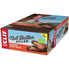CLIF Bar Nut Butter Boîte Barres énergétiques 12x50g, Chocolate Peanut Butter